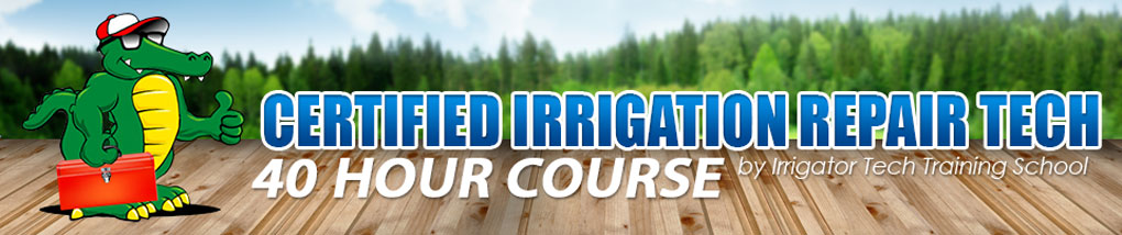 how to become an irrigation technician